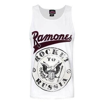 Amplified Ramones Rocket To Russia Men's Vest