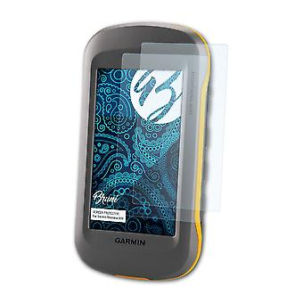 Bruni 2x Screen Protector compatible with Garmin Montana 600 Protective Film