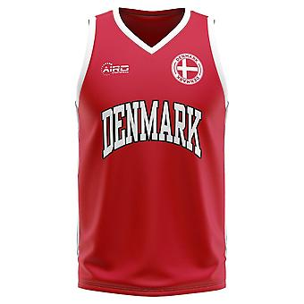 Denmark Home Concept Basketball Shirt - Kids