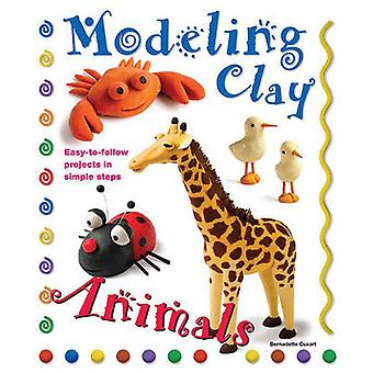 Modeling Clay - Animals by Bernadette Cuxart - 9780764145797 Book