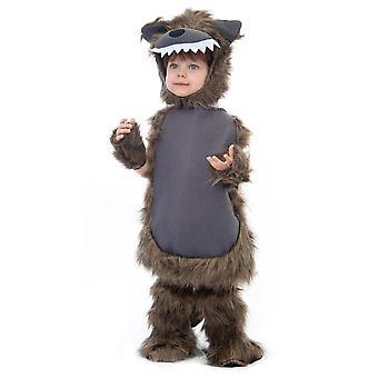Blană werewolf costum - copil & apos;s Halloween, 3-4