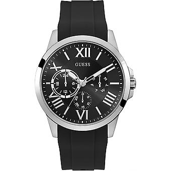 Watch Guess Watches GW0012G1 - Black Black Dial