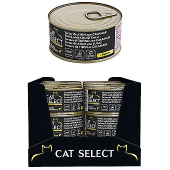 Pet select Cat Select Tartar De Atun Y Calamar 70Gr (Cats , Cat Food , Wet Food)