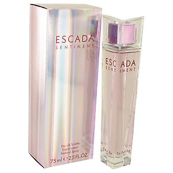 Escada Sentiment By Escada EDT Spray 75ml