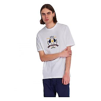 Lyle & Scott Crest T Shirt Short Sleeve White