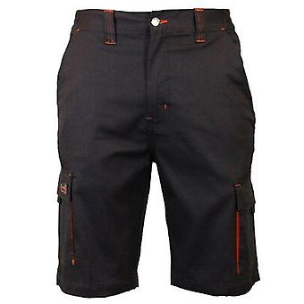 Mens Workwear Multipocket Cargo Work Shorts