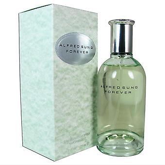 För evigt för kvinnor av alfred sjungit 4.2 oz eau de parfum spray