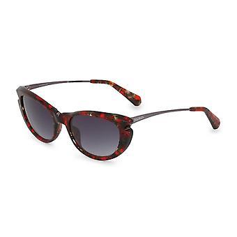 Balmain Original Frauen ganzjährig Sonnenbrille - rote Farbe 35493