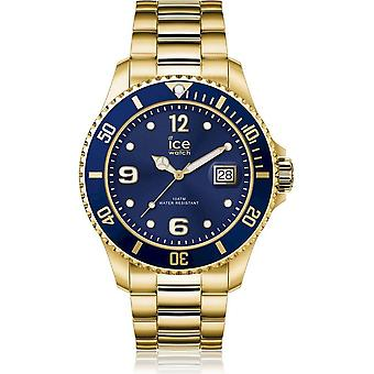 Ice Watch Watch Unisex ICE steel Gold blue Extra large 017326