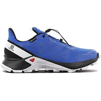 Salomon Supercross GTX - GORE-TEX - Men's Trail Running Shoes Blue 409541 Sneakers Sports Shoes