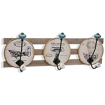 Wellindal wall hanger 3 hooks (Decoration , Hangers)