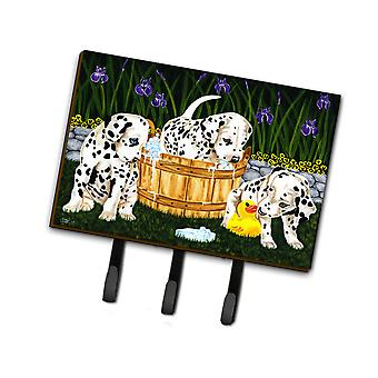 Carolines Treasures  AMB1320TH68 Pass the Soap Dalmatian Leash or Key Holder