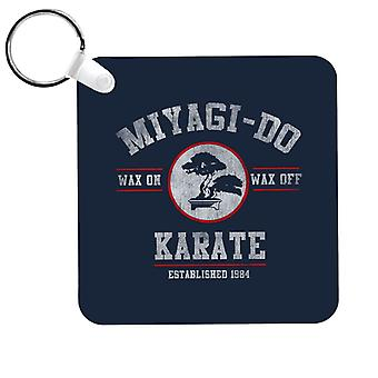 Miyagi Do Karate Kid Wax On Wax Off Keyring