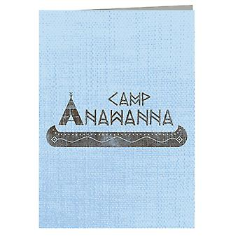 Salute Your Shorts Camp Anawanna Greeting Card