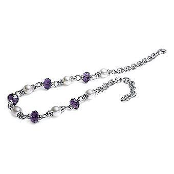 Ladies'�Necklace Viceroy 1013C000-97 Silver Purple (45 Cm)