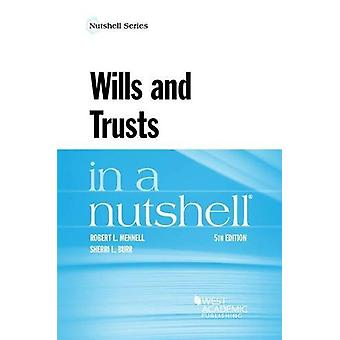 Wills and Trusts in a Nutshell by Robert Mennell - 9781634604871 Book