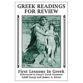Leituras de gregas para revisão: primeiro lições em Greek