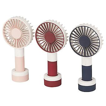 TechBrands Personal Rechargeable Portable Fan w/ 3 Speed et LED Light
