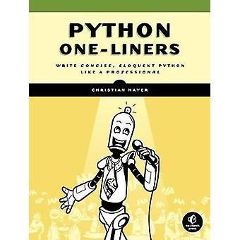 Python One-liners by Christian Mayer - 9781718500501 Book