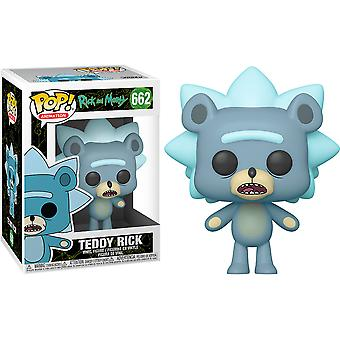Rick and Morty Teddy Rick Pop! Vinyl Chase Ships 1 in 6