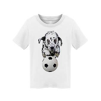 Dalmatian Dog Catching A Ball.   Tee Toddler's -Image by Shutterstock