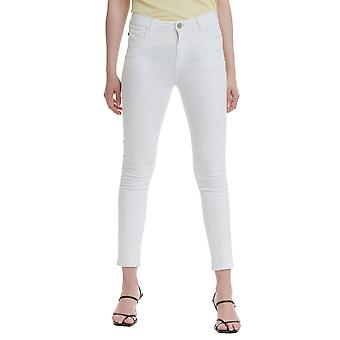 Funky Buddha Women's Casual Pants In Plain Pattern