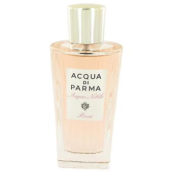 Acqua Di Parma Rosa Nobile Eau De Toilette Spray (Tester) przez Acqua Di Parma 4,2 uncji Eau De Parfum Spray