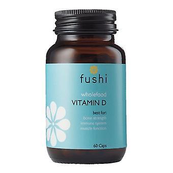 Fushi Wellbeing Whole Food Vitamin D Veg Caps 60 (F0021253)
