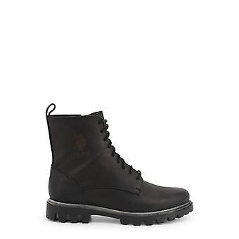 Zapatos de tobillo de cuero de mujer ua59671
