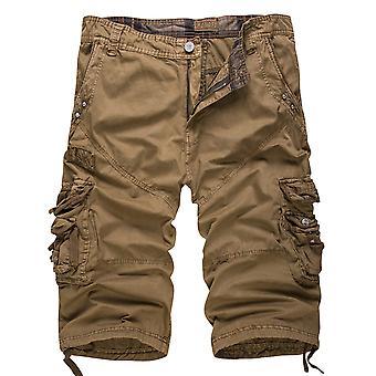 Allthemen Men's Short Pants Cotton Casual Shorts