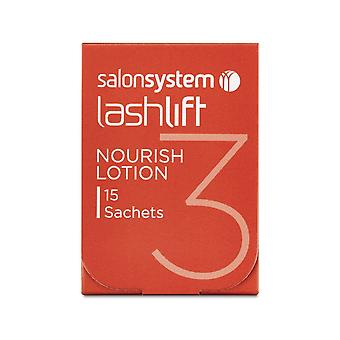Salon System Lashlift Nourish Lotion - Pack Of 15 Sachet