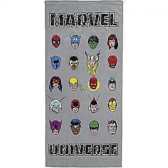 Marvel Universe 80th Anniversary Beach Towel