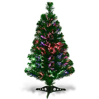 3FT  Artificial Fiber Optic Christmas Tree Xmas Light Decoration New