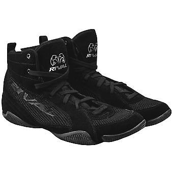 Rival Boxing Lo-Top Mesh Paneled Guerrero Boots - Black