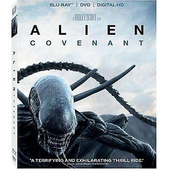 Alien: Covenant [Blu-ray] USA import