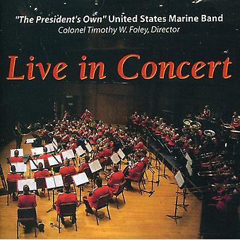 U.S. Marine Band - The Presidents Own Marine Band: Live in Concert [CD] USA import