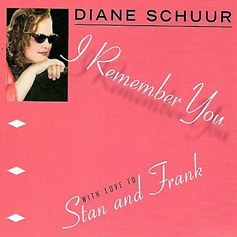 Diane Schuur - I Remember You (with Love to Stan & Frank) [CD] USA import