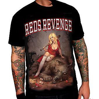 Wild Star - rot Rache - Herren T-shirt