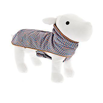 Ferribiella Coat Air Blue and Orange (Dogs , Dog Clothes , Coats and capes)