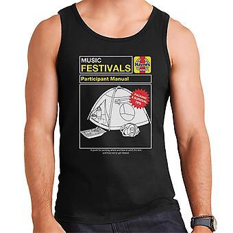 Haynes Music Festivals Manual Men's Vest