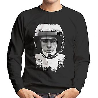 Motorsport Images Colin McRae Portant Casque Homme-apos;s Sweatshirt