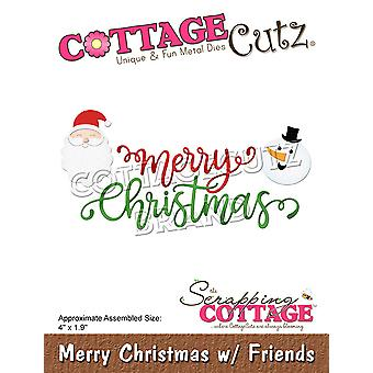 Scrapping Cottage Merry Christmas with Friends