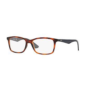 Ray-Ban RB7047 5574 Matte Light Havana Glasses