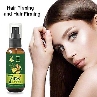 7 dagar Ginger Hair Growth - Anti förebygga håravfall Alopecia Liquid