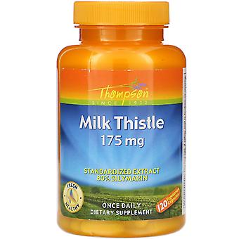 Thompson, Milk Thistle, 175 mg, 120 Vegetarian Capsules