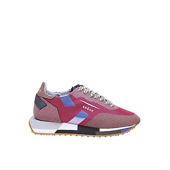 Ghoud Smlwgm04 Women's Fuchsia Leather Sneakers