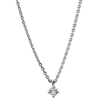 الماس كولير كولير - 14K 585/- الذهب الأبيض - 0.07 قيراط.