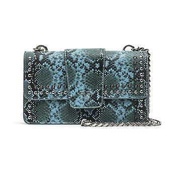 Blue italia snake print crossbody bag - p07_blue 19v69 italia