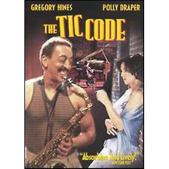 Tic Code [DVD] USA import