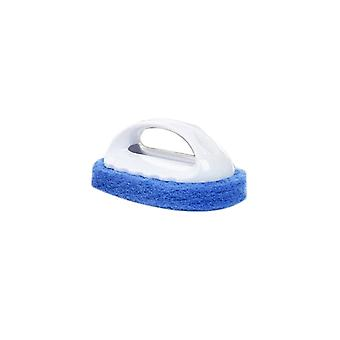 Sponge Cleaning Brushes Shower Kitchen Brush Cleaning Blue